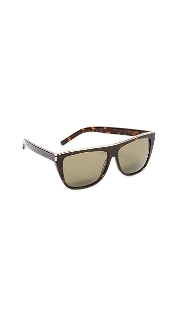 Saint Laurent SL 1 Mineral Glass Combi Sunglasses