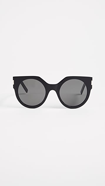Saint Laurent SL 185 Slim Sunglasses