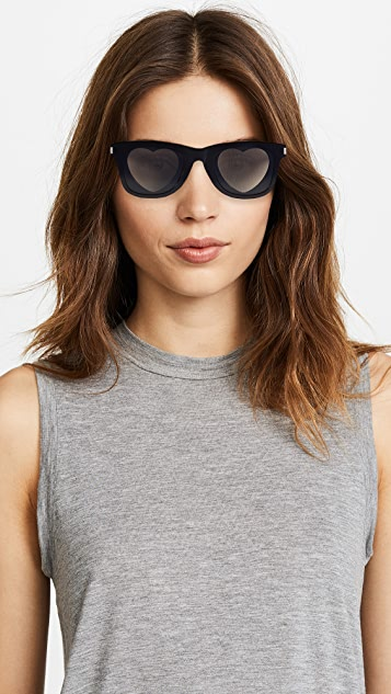 Saint Laurent Heart Lens Sunglasses