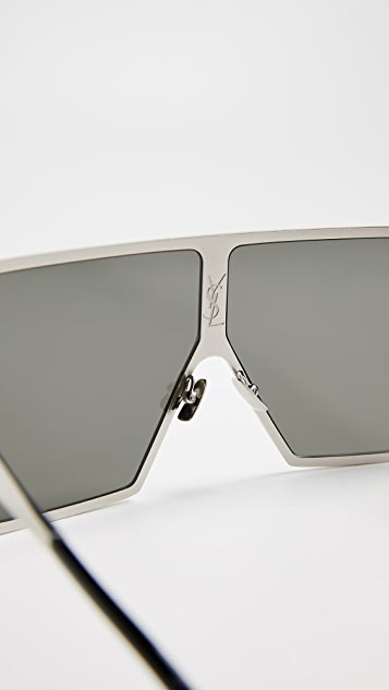Saint Laurent SL 182 Metal Betty Sunglasses