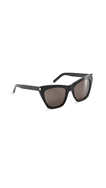 Saint Laurent Kate Cat Eye Sunglasses