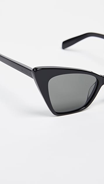 Saint Laurent Cateye Sunglasses