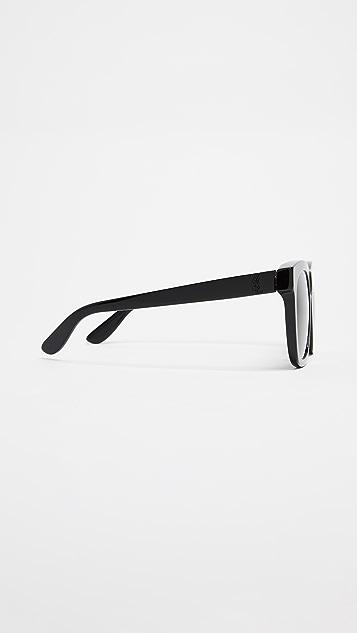 Saint Laurent Oversized Rectangle Sunglasses