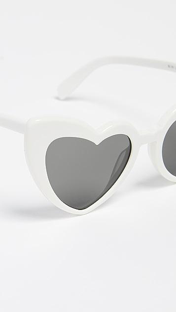 Saint Laurent Солнцезащитные очки SL 181 Lou Lou Hearts