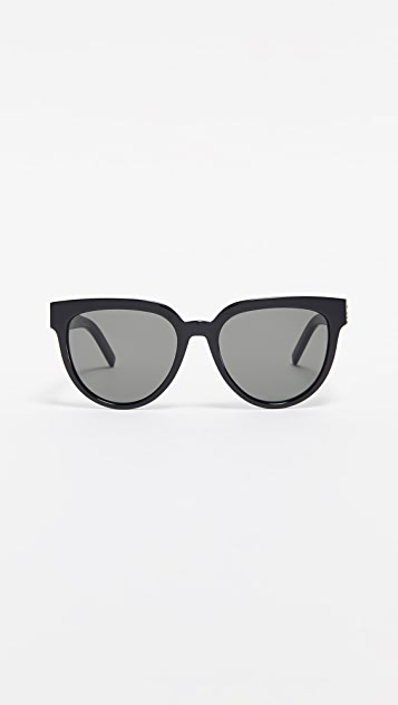 Saint Laurent Sl M28 Acetate Cat Eye Sunglasses