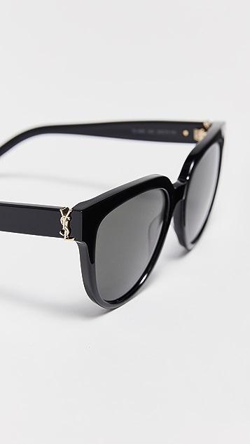 Saint Laurent SL M28 Acetate Cat Eye Sunglasses