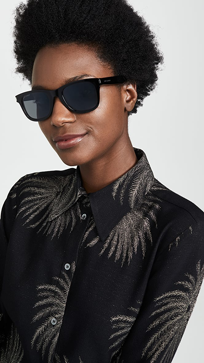 f2318a70 Saint Laurent SL 51 Classic Sunglasses | SHOPBOP