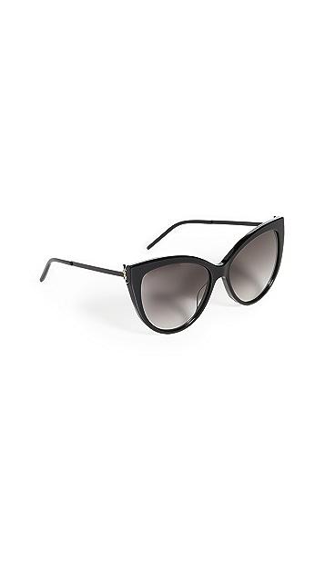 Saint Laurent Солнцезащитные очки Feminine