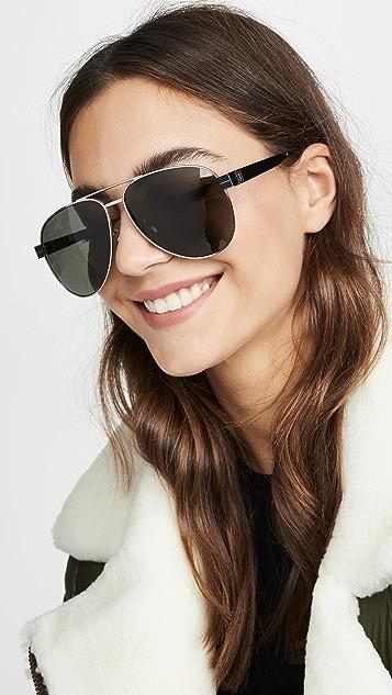 Saint Laurent Солнцезащитные очки-авиаторы Pilot