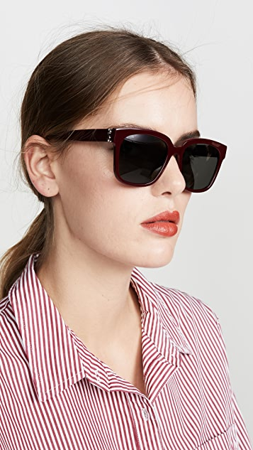 Saint Laurent New Pilot Sunglasses
