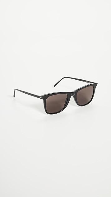 Saint Laurent Unisex Square Sunglasses