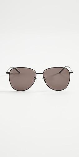 Saint Laurent - Soft Pilot Sunglasses