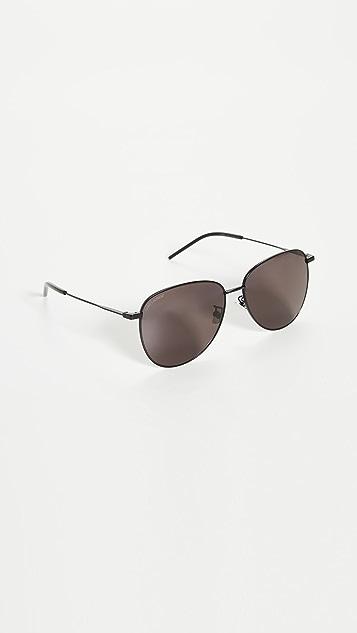 Saint Laurent Soft Pilot Sunglasses