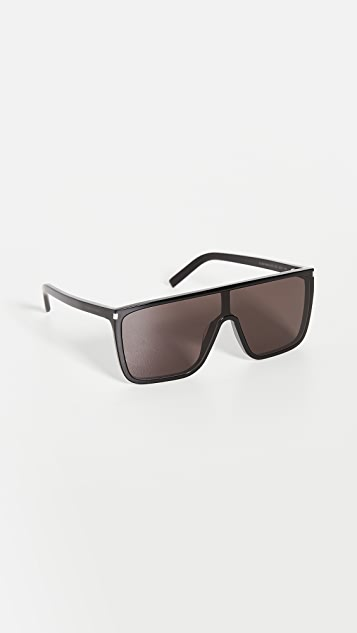 Saint Laurent SL364 Mask Ace Sunglasses