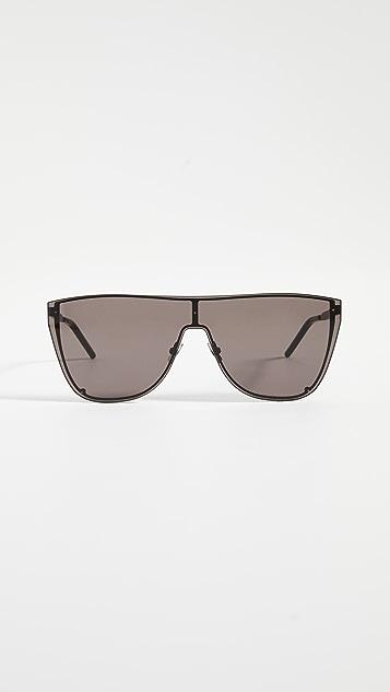 Saint Laurent SL 1-B  Mask Sunglasses