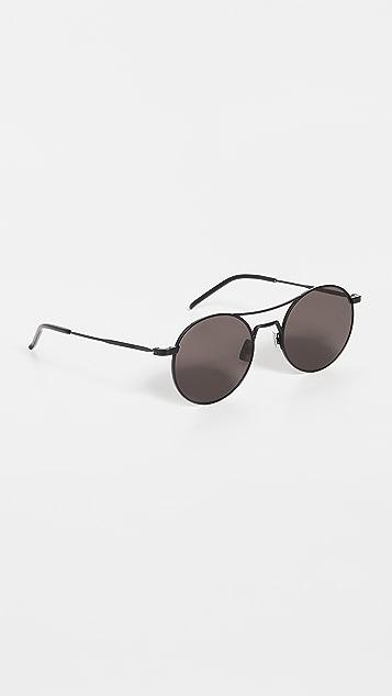 Saint Laurent SL 421 Aviator Sunglasses