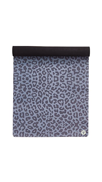Yellow Willow Yoga Leopard Yoga Mat