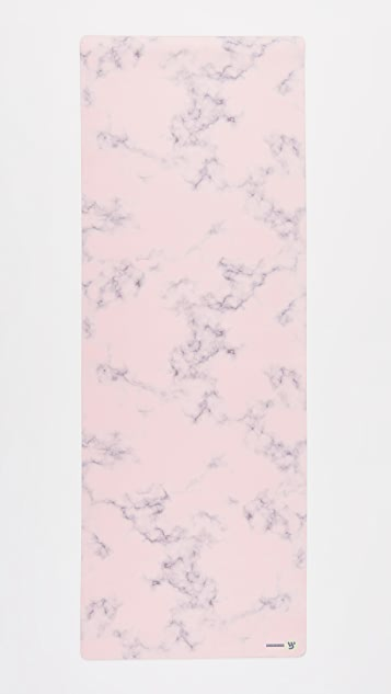 Yellow Willow Yoga Blush Marble Yoga Mat