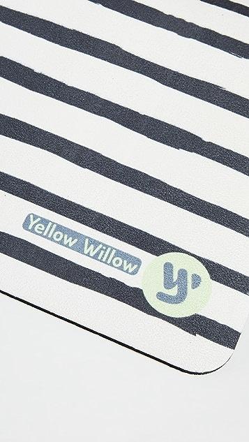 Yellow Willow Yoga Dahlia Yoga Mat