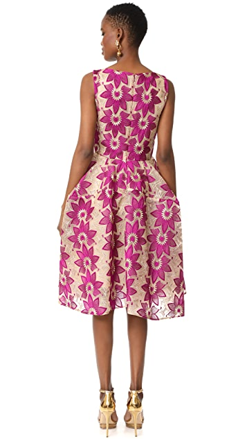 Zac Posen Floral Dress