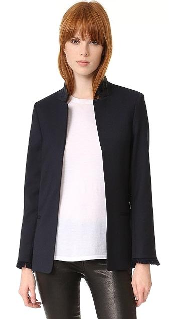 Zadig&Voltaire Volly striped blazer High-Quality Cheap VjDc8HnN8