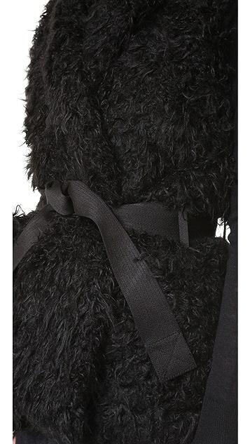 Zadig & Voltaire Fay Faux Fur Vest