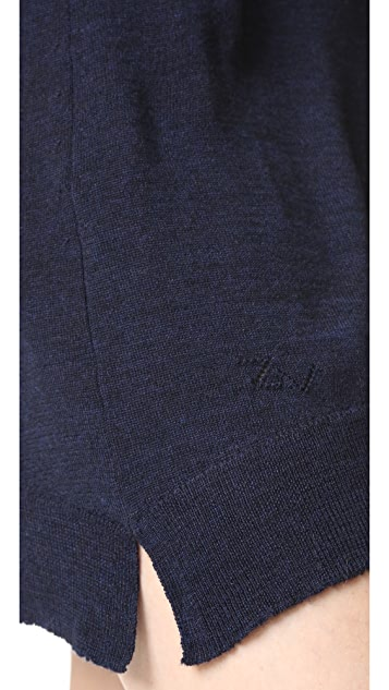 Zadig & Voltaire Riza V Neck Dress