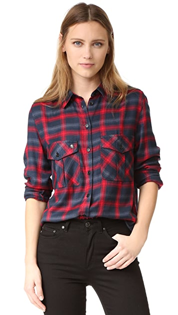 Zadig & Voltaire Tarmi Plaid Shirt