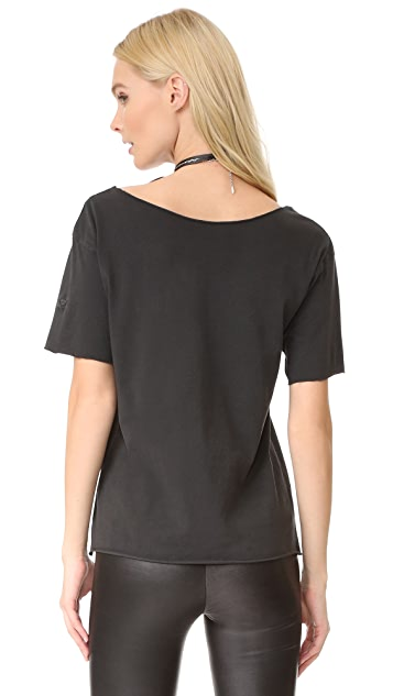 Zadig & Voltaire Flash Bis Overdyed Tee