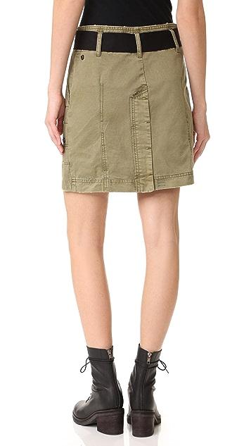 Zadig & Voltaire Jewel Grunge Skirt