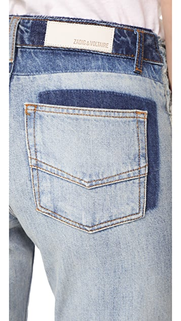Zadig & Voltaire Boyfix Deluxe Jeans