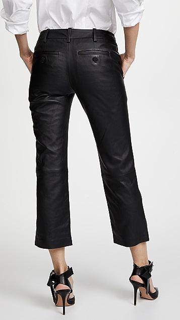 Zadig & Voltaire Posh Deluxe Leather Pants