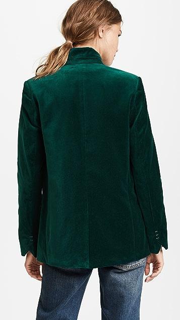 Zadig & Voltaire Volly Velvet Blazer