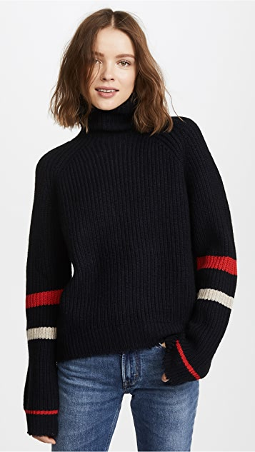 Zadig & Voltaire Zoe Turtleneck Sweater