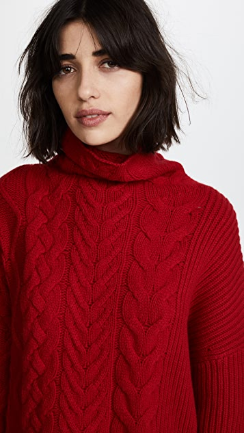 Zadig & Voltaire Abby Runway Turtleneck Sweater