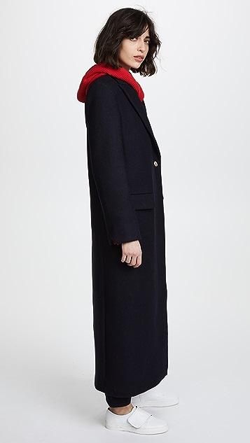 Zadig & Voltaire Marco Long Runway Coat