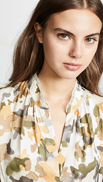 Zadig & Voltaire Tink Camou Blouse