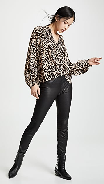 Zadig & Voltaire Theresa Leo Blouse