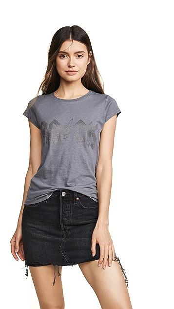 Zadig & Voltaire Studded Short Sleeve T-Shirt