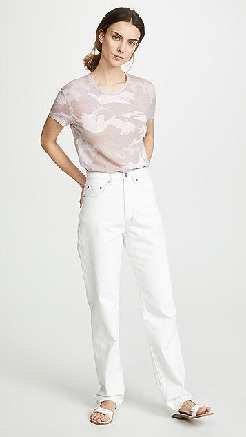 611f3e48b329 ... Zadig   Voltaire Walk Linen Camo T-Shirt ...
