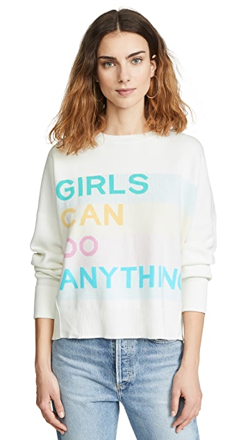 Zadig & Voltaire Girls Can Do Anything Sweatshirt