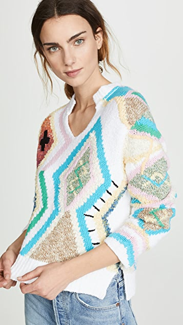 Sonny Kilim Sweater by Zadig &Amp; Voltaire