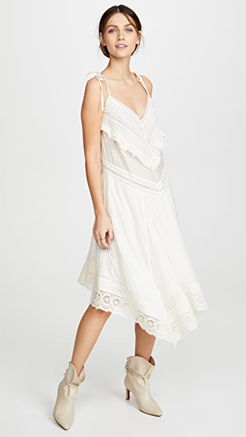 Zadig & Voltaire Ruffle and Lace Dress
