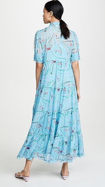 Zadig & Voltaire Floor-Length Tiered Dress