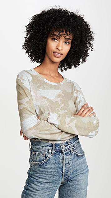 Zadig & Voltaire Willy AO Camou Top