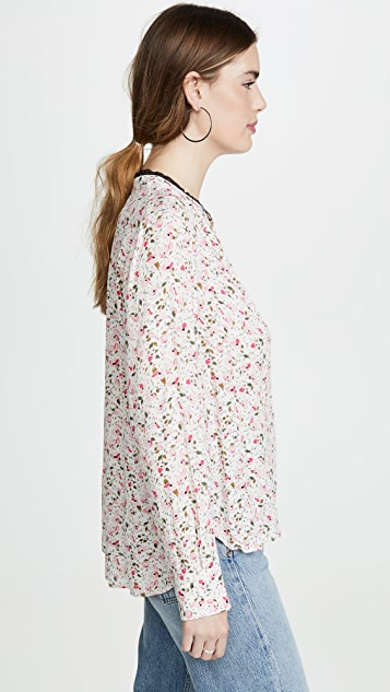 Zadig & Voltaire Tink Print Blouse