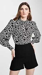 Zadig & Voltaire Titus Print Coe 女式衬衫