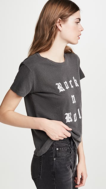 Zadig & Voltaire Alys Rock Roll Strass T 恤