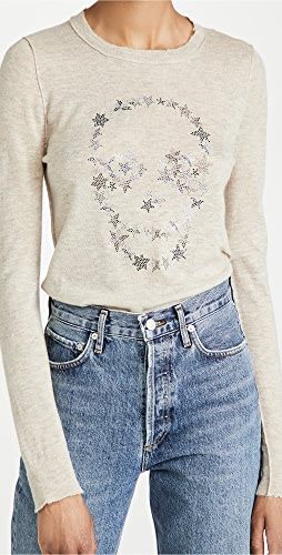 Zadig & Voltaire - Miss CP Skull Cashmere Sweater