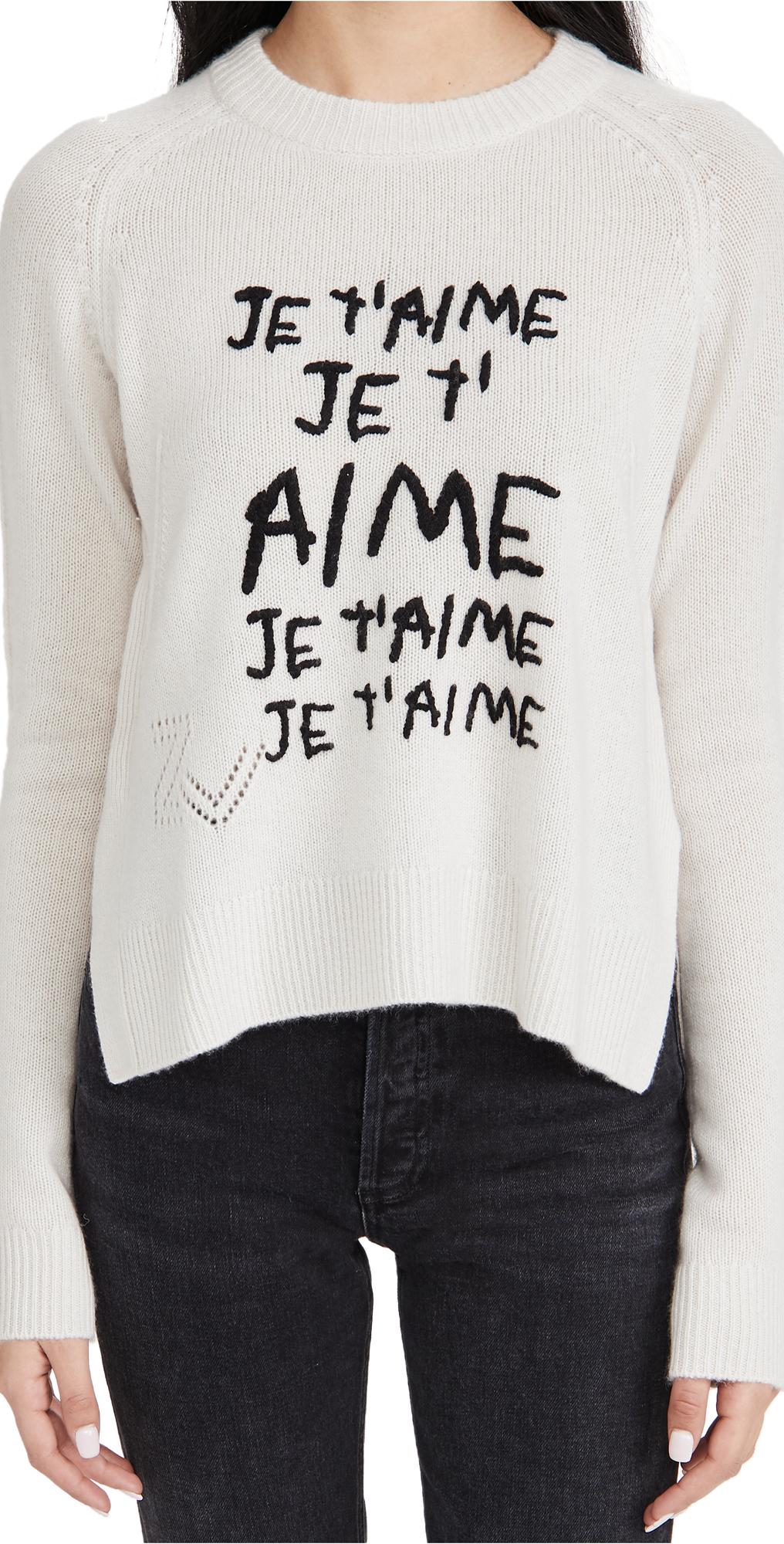 Zadig & Voltaire Lili Cashmere Sweater